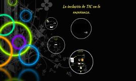 Copy of Desafíos sobre la inclusión de TIC en la enseñanza
