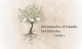 Introducción Al Estudio Del Derecho.