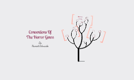 Copy of Conventions of Horror genre