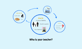 Who is your teacher?