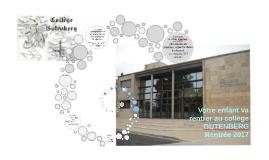 Présentation Collège Parents CM2