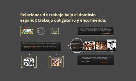 Encomienda y esclavitud en Chile