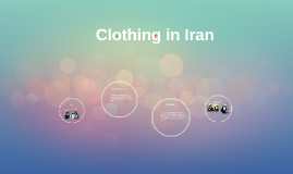 Clothing in Iran