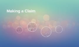 Making a Claim