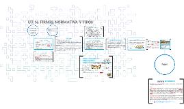 U.T. 16. FIRMES. NORMATIVA Y TIPOS