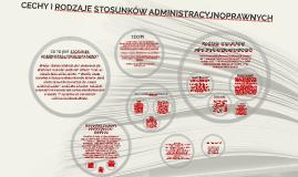 Copy of CECHY I RODZAJE STOSUNKÓW ADMINISTACYJNO-PRAWNYCH
