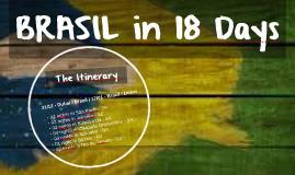 Trip to Brazil 2014/2015