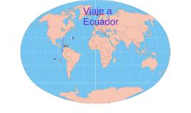 Viaje a Ecuador