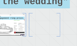 Planning the wedding""