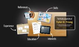 Desktop Prezumé by Tyler Trueg