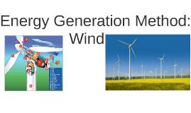 Energy Generation Method: