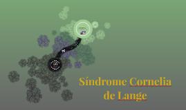 Copy of Síndrome Cornelia de Lange