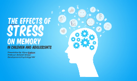 The effects of stress on memory in children and adolescents