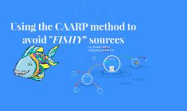 Copy of Using the CAARP method to