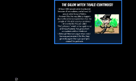Salem/WitchCraft