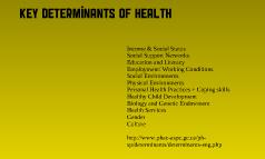 Detrminants of Health