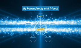 My house,family and friends