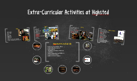 Extra-Curricular Activities at Highsted