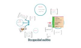 Copy of Discapacidad auditiva
