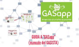 PRESENTAZIONE GASapp 1 (MANUALE del GASISTA)