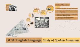 GCSE Language WK4