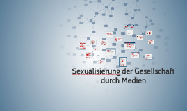 Sexualisierung bedeutung