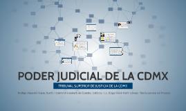 PODER JUDICIAL DE LA CDMX