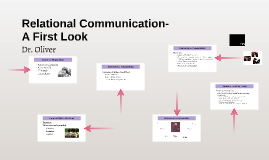 Relational Communication- A First Look