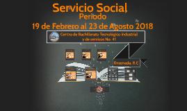 Copy of Servicio Social CBTis.41