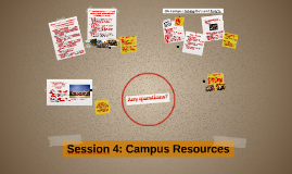 2015 Session 4: Campus Resources