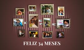 FELIZ 34 MESES