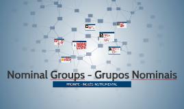 To PDF Grupos Nominais