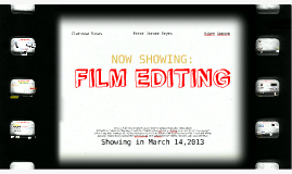 Copy of FILM EDITING