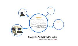 Proyecto: Señalización solar