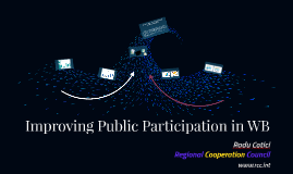 Improving Public Participation in WB