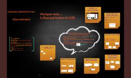 Base patrimoine du CCFr - présentation