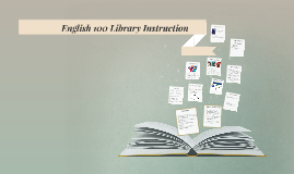 English 100 Library Instruction