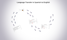 Copy of Language Transfer in Spanish to English