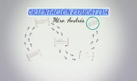 Copy of ORIENTACIÓN EDUCATIVA