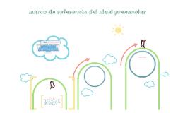 marco de referencia del nivel preescolar