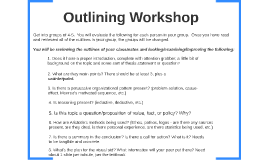 Outlining Workshop