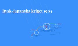 Rysk-japanska kriget 1904