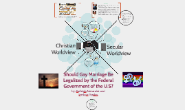 Should Gay Marriage Be Legalized by the Federal Government o