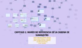 CAPITULO 2. MARCO DE REFERENCIA DE LA CADENA DE SUMINISTRO
