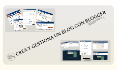 CREA UN BLOG CON BLOGGER