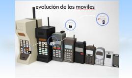 evolucion de los moviles