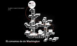 El consenso de de Washington