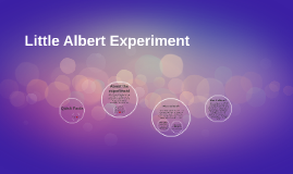 Little Albert Experiment
