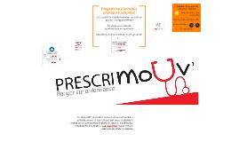 Copy of PRESCRIMOUV - Bouger sur ordonnance