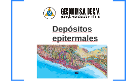 Depositos epitermales